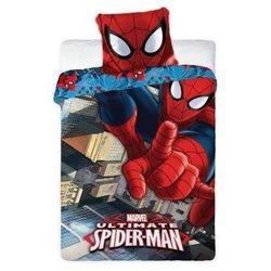 Dekoria Komplet pościeli Spiderman, poszwa 160 × 200 cm, poszewka 70 × 80 cm