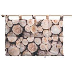 Dekoria Wezgłowie na szelkach, motyw drewna, 90 x 67 cm, Norge