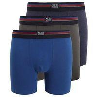 Jockey COTTON STRETCH LONG LEG TRUNK 3 PACK Panty dark shadow, kolor niebieski