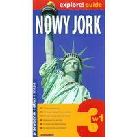 Nowy Jork 3w1 Przewodnik+atlas+mapa (384 str.)