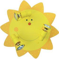 Lampa sufitowa dla dzieci Waldi Leuchten 65294.0, E14, (ØxW) 44 cmx16 cm, żółty