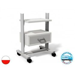 Stolik-wózek sta-01 uniwersalny pod aparaty medyczne marki Juventas