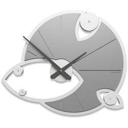 Zegar ścienny Andromeda Swarovski CalleaDesign aluminium