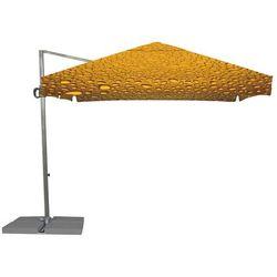 Parasol Ogrodowy Rio 3x3m - Bąbelki Brązowo-Złote - produkt z kategorii- Parasole ogrodowe