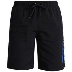 adidas Performance Szorty kąpielowe black/blue, materiał poliamid, czarny
