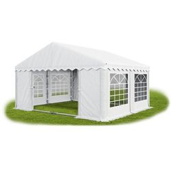 Namiot 4x4x2, Wzmocniony Pawilon ogrodowy, SUMMER PLUS/ 16m2 - 4m x 4m x 2m