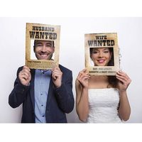 Ap Foto rekwizyty husband wanted/wife wanted - 2 elem. (5901157463241)