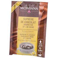 Monbana Supreme Chocolate o pomarańczowym smaku - saszetka 25g