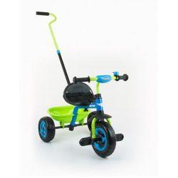 Milly Mally TURBO rowerek 3-kołowy blue-green z kategorii Rowerki trójkołowe