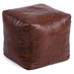 Puf AMARI 47x47 kolor brązowy