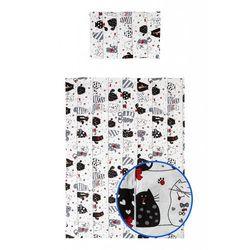 Pościel z bawełny 135x100 Koty 5Y36K4