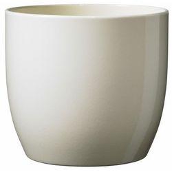 Sk soendgen keramik Osłonka doniczki basel vanila śr. 16 cm