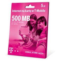 T-Mobile Internet na kartę 500MB 5 zł (5907791700421)