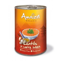 Amaizin Soczewica w sosie curry (puszka) bio 420 g -