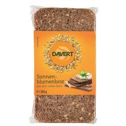 Chleb słonecznikowy bio 500 g - davert, marki Davert (pieczywo, produkty vege)