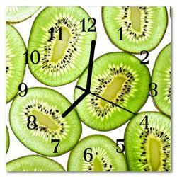 Zegar ścienny kwadrat Kiwi