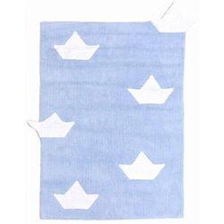 Lorena canals Dywan do prania w pralce łódki błękitny