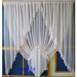 215 Nowa,elegancka firanka - okno tarasowe, 215
