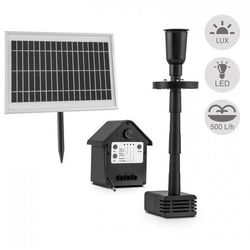 wasserwerk 500 pompa wodna fontanna solarna 500 l/h led akumulator marki Blumfeldt