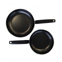 MONETA - Zestaw patelni 24 cm i 28 cm, Black Line, indukcja, kolor czarny