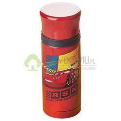 Termos szkolny CARS 350 ml czerwony - produkt z kategorii- Termosy