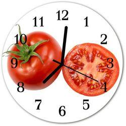 Zegar ścienny okrągły Pomidory