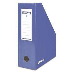 Pojemnik na dokumenty , karton, a4/100mm, lakierowany, niebieski marki Donau