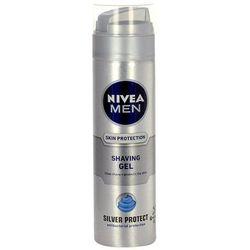 Nivea Men Silver Protect Shaving Gel 200ml M Żel do golenia antygabteryjny - sprawdź w wybranym sklepie
