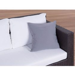 Poduszka ogrodowa - dekoracyjna - poduszka 40x40 cm szara wyprodukowany przez Beliani