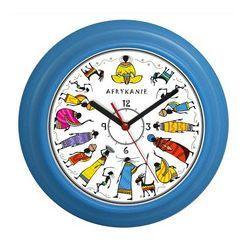 Zegar ścienny kolorowy Afrykanie, ATE9920AF