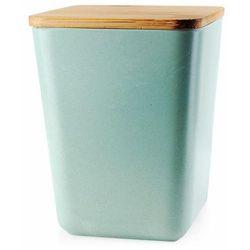 Pojemnik bambusowy na żywność Mint, kolor zielony
