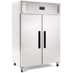 Polar refrigeration Szafa mroźnicza 2-drzwiowa | stal nierdzewna | 1200l | -10 do -20°c | 1340x815x(h)1990 mm