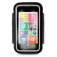 Puro  running band - uniwersalna frotka do biegania do smartfonów max 4.3 + key pocket (czarny) odbiór osobi
