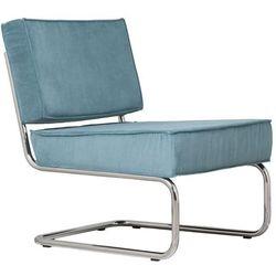 Zuiver Krzesło Lounge RIDGE RIB niebieskie 3100011, 3100011