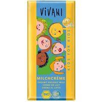 Vivani: czekolada mleczna dla dzieci BIO - 100 g (4044889001099)