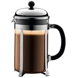Zaparzacz do kawy chambord, 12 fliliżanek, 1.50 l, chrom - 1,50 l marki Bodum