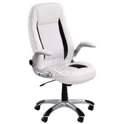 Fotel gabinetowy Saturn biały - gwarancja bezpiecznych zakupów - WYSYŁKA 24H, 821065