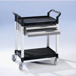 Seco Wózek uniwersalny z szufladami, dł. x szer. x wys. 850x480x950 mm, 2 szuflady, 2