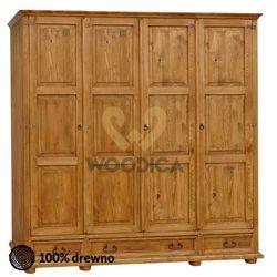 Szafa hacienda 13 [4d +3s] marki Woodica
