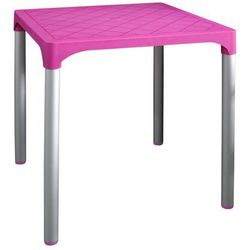 stół mp1351 viva, różowy marki Mega plast