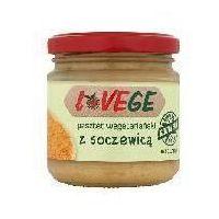Pasztet wegetariański z soczewicą Lovege 180g (5900617029034)