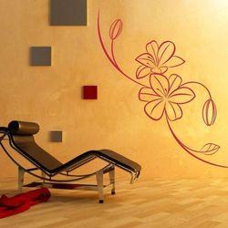 Deco-strefa – dekoracje w dobrym stylu Kwiaty 27 szablon malarski