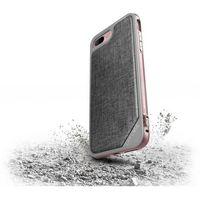 X-Doria Defense Lux - Aluminiowe etui iPhone 7 Plus (Rose Gold/Grey), kolor szary