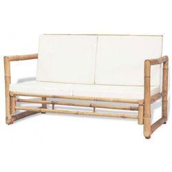 Bambusowa sofa ogrodowa Belta - brązowa, vidaxl_43157