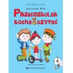 Przedszkolak kocha czytać