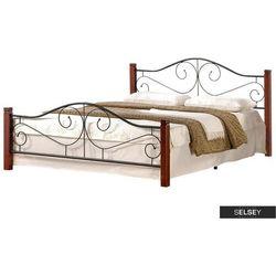Halmar Selsey łóżko metalowe santander 160x200 cm