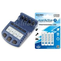 Bc-1000 (następca bc-900) + 4 x r03/aaa everactive 1000 wyprodukowany przez Technoline / everactive