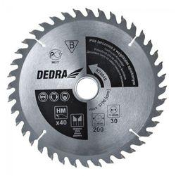 Tarcza do cięcia DEDRA H60080 600 x 30 mm do drewna + DARMOWY TRANSPORT! - produkt z kategorii- Pozostałe narzędzia elektryczne