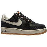 Nike Buty  air force 1 (488298-095) - czarny ||beżowy