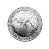 Perth mint 1 uncja srebrny australijski kangur - srebrna moneta rocznik 2017